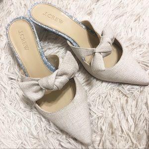J crew kitty heels